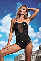 Мягкий черный купальник боди сетка Miss Marea 18468 42 Черный MissMarea 18468