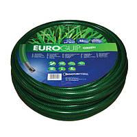 Шланг садовий Tecnotubi Euro Guip Green для поливу діаметр 5/8 дюйма, довжина 25 м