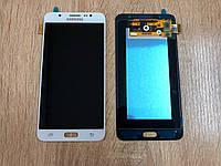 Дисплей Samsung J7 J710 Белый White GH97-18855C оригинал!