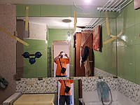 Зеркало в ванную 40 см габарит