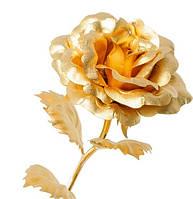 Позолоченная Роза сусальное золото GL-RO-001