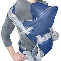 Рюкзак - кенгуру с капюшоном для переноски детей   Деткие рюкзаки-кенгуру