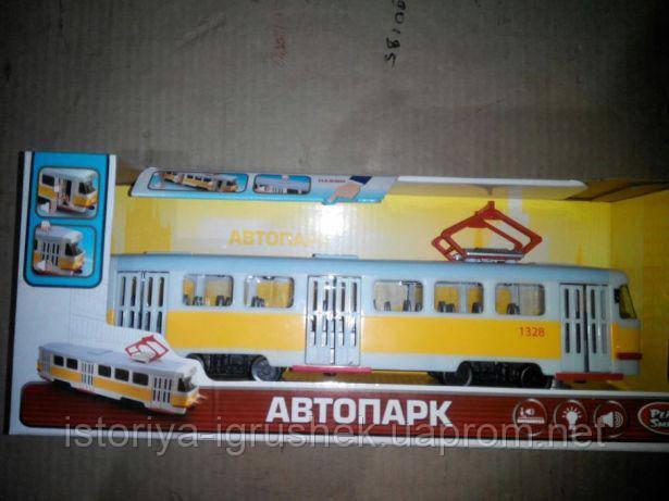 Детская игрушка трамвай Автопром 9708 в ассортименте