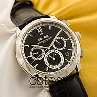 Мужские наручные часы Vacheron Constantin malte grand complications silver black (05214)