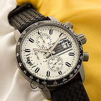 Мужские наручные часы l.u.Chopard monaco historique chronometer black white (05215)