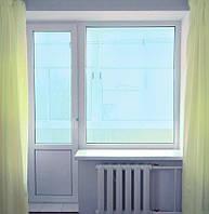 Балконный блок Decco 70 недорого  двухкамерный  стеклопакет 2,1м*1,9м