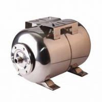 Бак для насосной станции на 50 литров, Гидроаккумулятор WOMAR, нержавейка