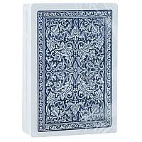 Пластиковые покерные карты Fournier 2818 синие