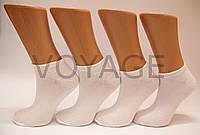Женские носки короткие с бамбука КЛ 36-40 белый