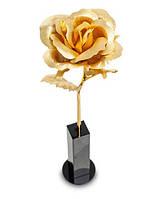Позолоченная Роза сусальное золото GL-RS-001