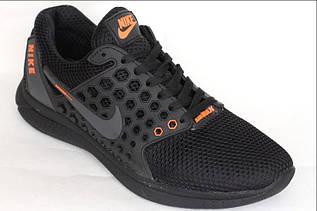 Кроссовки подросток Kostin-Nike-2 чер. сер.