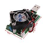 Нагрузочный резистор  с кулером USB 4А, фото 3