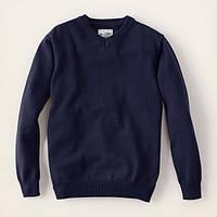 Детский свитер для мальчика синий