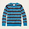 Детский свитер для мальчика полоска