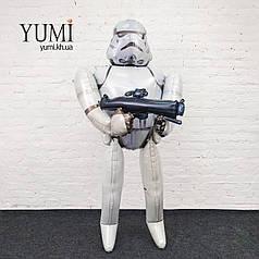 Ходячий шар фигура Штурмовик/Звездные войны