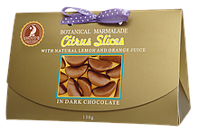 Мармелад Цитрусові дольки в шоколаді