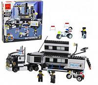 Конструктор Brick 128 Полицейский участок 325 деталей