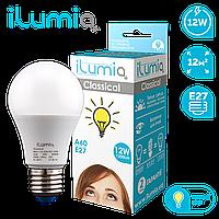 Светодиодная лампочка 004 L-12-A60-E27-WW