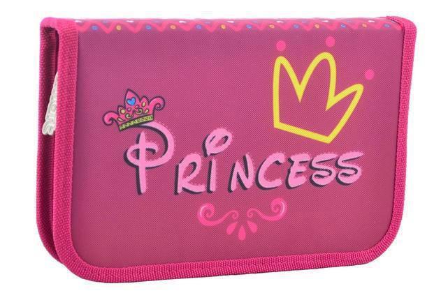 Пенал SMART 531671 1отворот Princess, фото 2