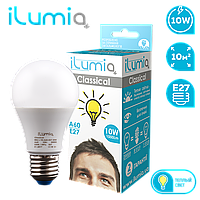 Светодиодная лампочка 006 L-10-A60-E27-WW
