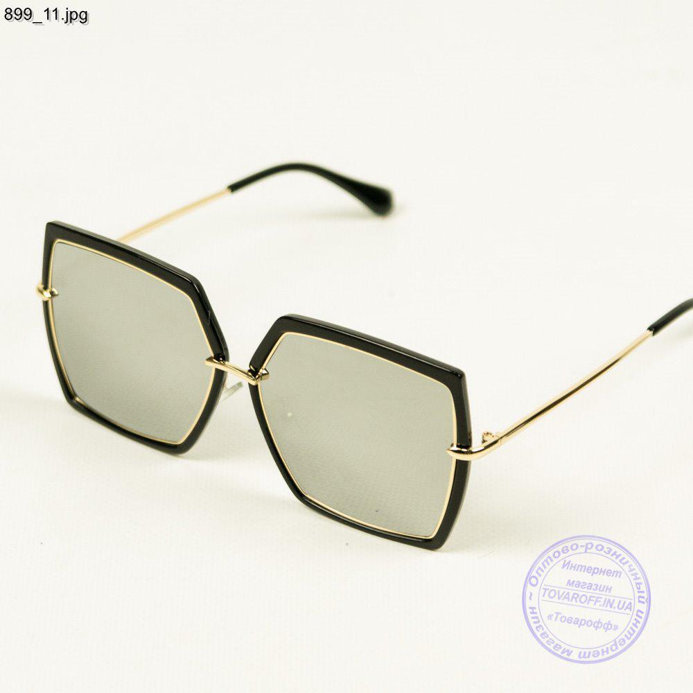 Солнцезащитные квадратные очки зеркальные - 899 3 - купить по лучшей ... ce0909c6566