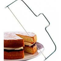 Струна металлическая для нарезки бисквита 32 см