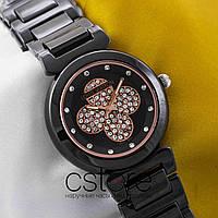 Женские наручные часы Louis Vuitton black black (05355)