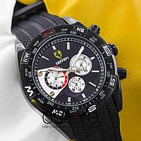 Мужские наручные часы Ferrari black black (05358)