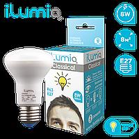 Светодиодная лампочка 016 L-8-R63-Е27-WW