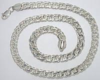 Серебряная цепочка 925 проба, фото 1