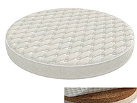 Матрас круглый и овальный на люльку Ingvart Smart Bed 60/72-120 кокос - латекс