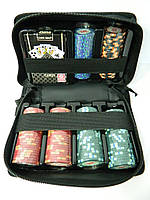 Набор для покера походный Cartamundi на 150 фишек с номиналом