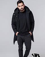 Мужское демисезонное пальто Braggart чёрное