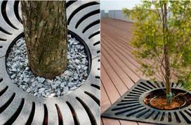 Приствольные решетки для деревьев
