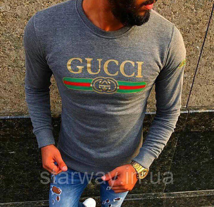 Свитшот Gucci logo топ   Премиум Бренд