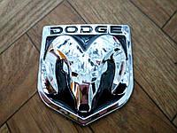 Эмблема DODGE  82х90 мм