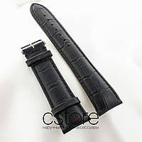 Кожаный ремешок для часов Vacheron Constantin black (05607)
