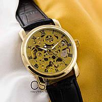 Мужские наручные часы Omega classic gold gold (05615)