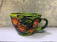 Чашка керамическая 100% ручная работа 0,5 л (62)