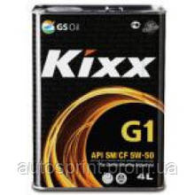 Моторное масло Kixx G1 5W-50 (4л)