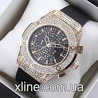 Женские наручные часы Hublot M97 на каучуковом ремешке