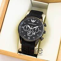 Мужские наручные часы Emporio Armani black black (05324)