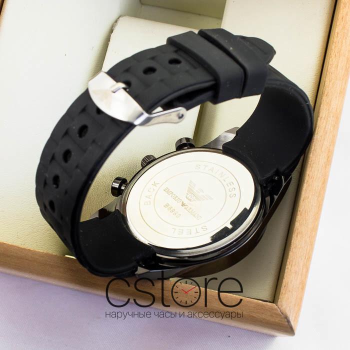 699a6c4b18d1 Мужские наручные часы Emporio Armani black black (05324)  Купить в ...