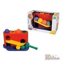 Развивающая игрушка «Башня с шариками и молотком» Simba 4006592401450