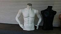 Мужской манекен торс для демонстрации одежды