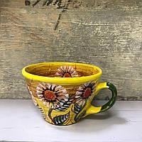 Чашка керамическая 100% ручная работа 0,5 л (51)