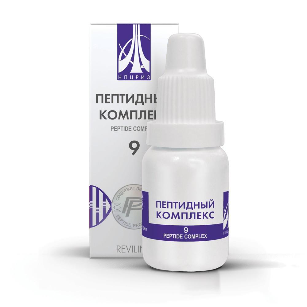 Пептидний комплекс №9 (для відновлення чоловічої статевої системи)