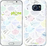 "Чехол на Samsung Galaxy S6 G920 Мрамор 4 ""3865c-80-493"""