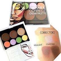 Палитра для контуринга City Color™ Contour & Correct Cream Palette, фото 2