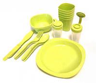 Набор посуды для пикника на 4 персоны плюс складной столик R81887